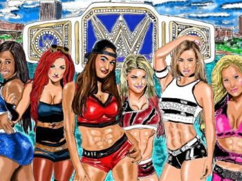 WWE Divas Smackdown Championship WWe Backlash