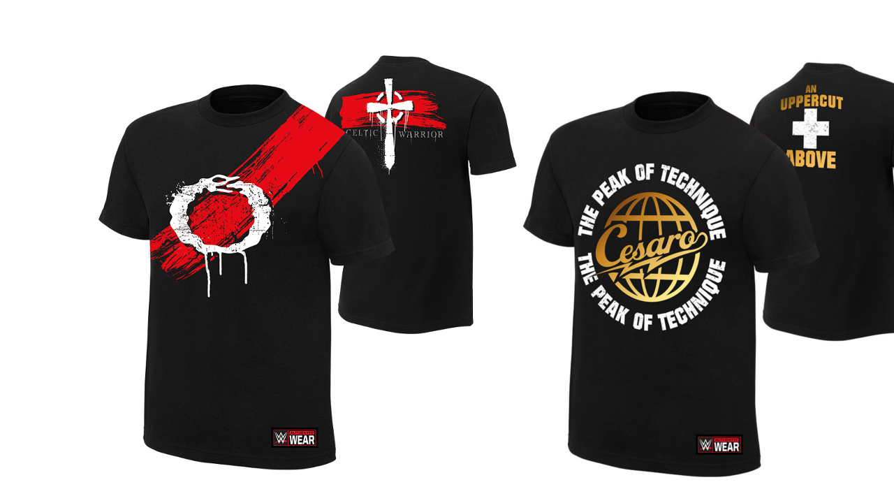 cesaro sheamus shirt wwe