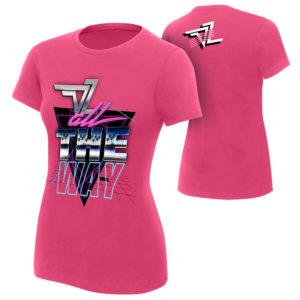 Dolph Ziggler Pink Womens Shirt