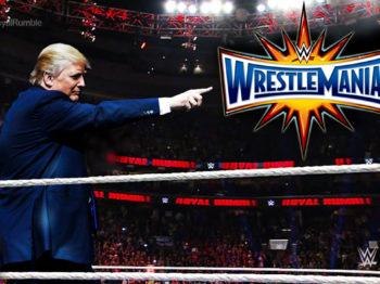Donald Trump WWE Royal Rumble