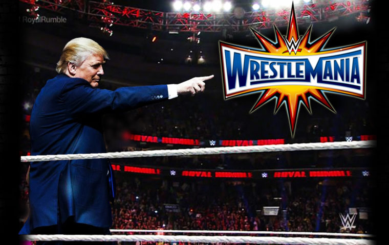 Donald Trump WWE Royal Rumble