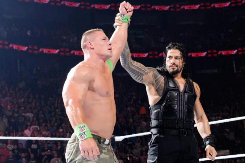 john cena and roman reigns tag team
