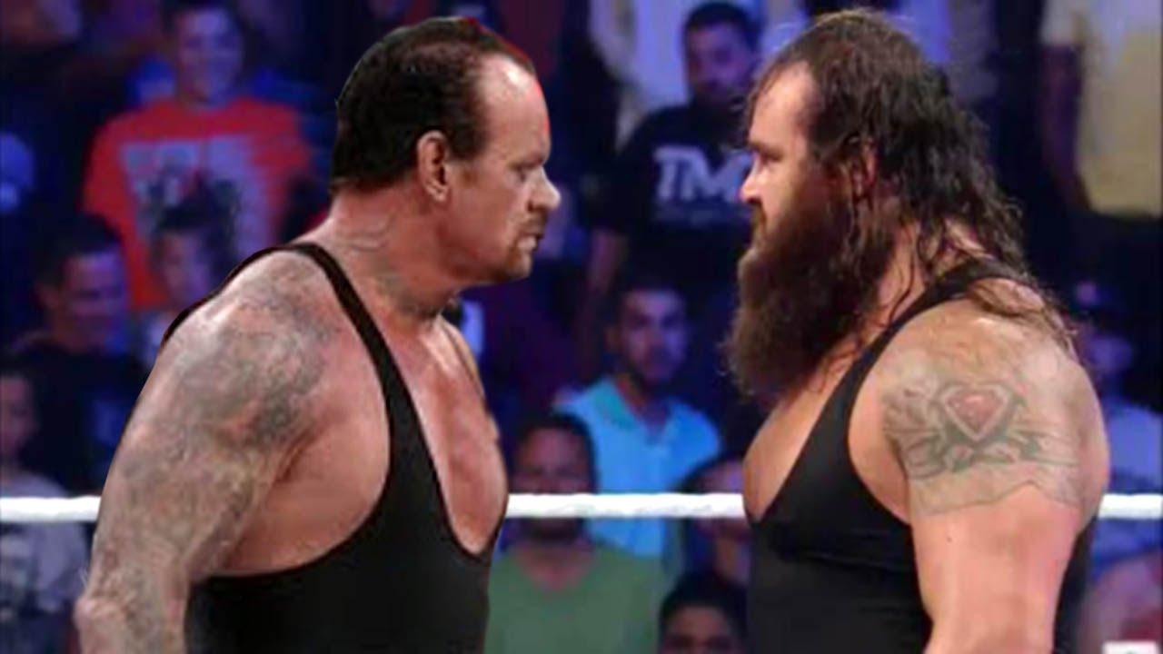 undertaker vs braun strowman