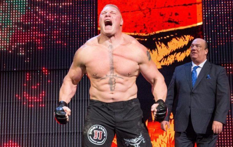 brock lesnar vs Goldberg wrestlemania 33 universal championship