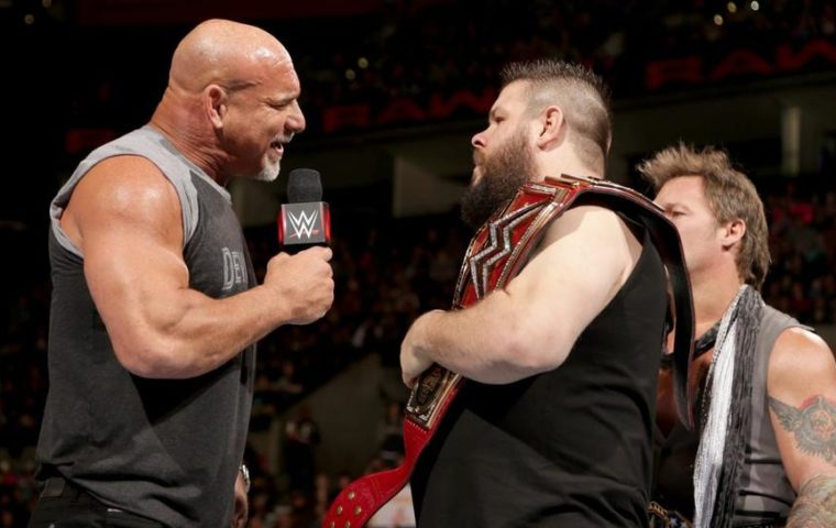 Kevin Owens vs goldberg wwe fastlane 2017