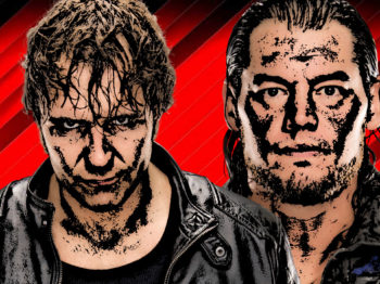 Dean Ambrose vs Baron Corbin Wrestlemania 2017 wwe