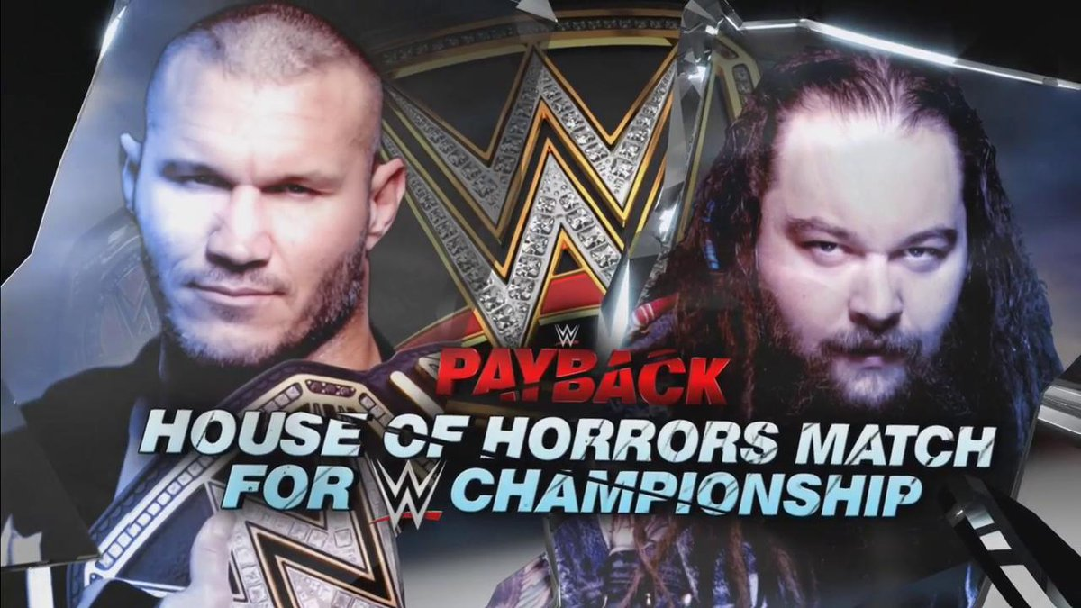 wwe house of horrors match