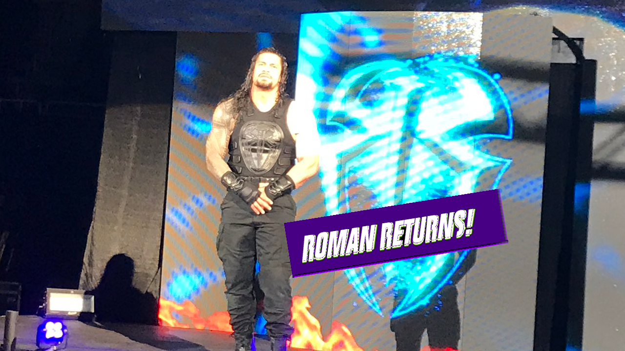 roman reigns returns