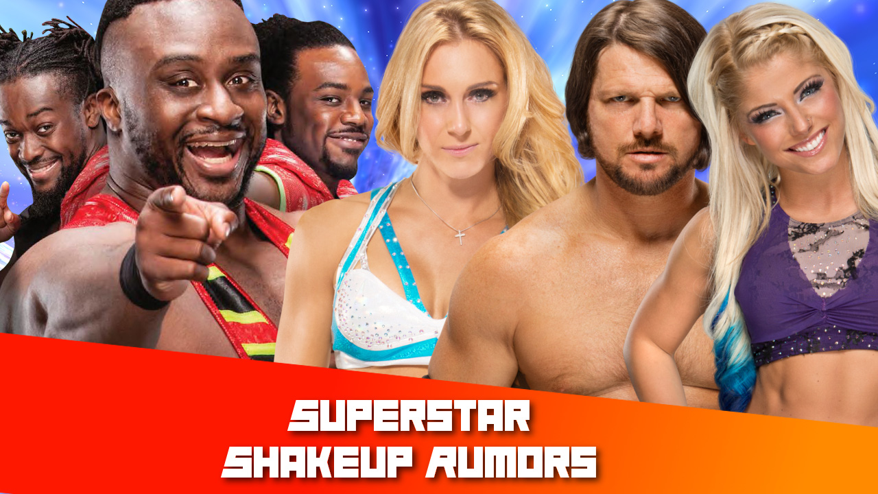 wwe superstar shakeup