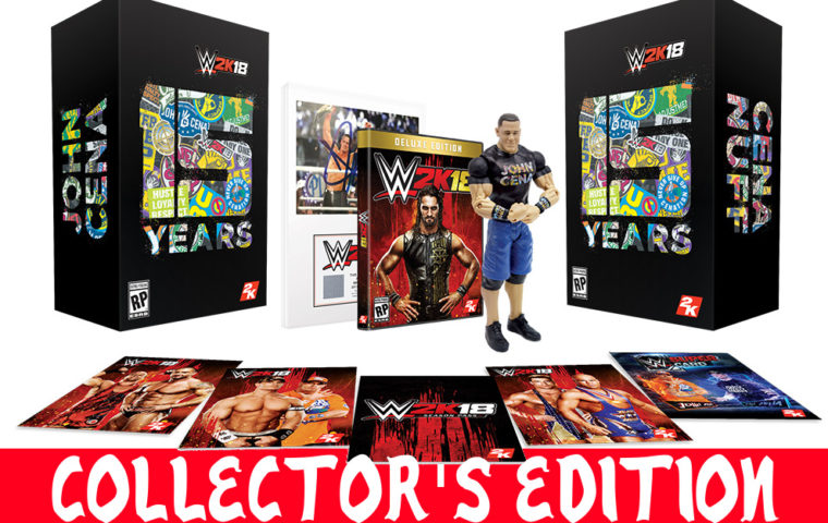 wwe 2k18 collector's edition
