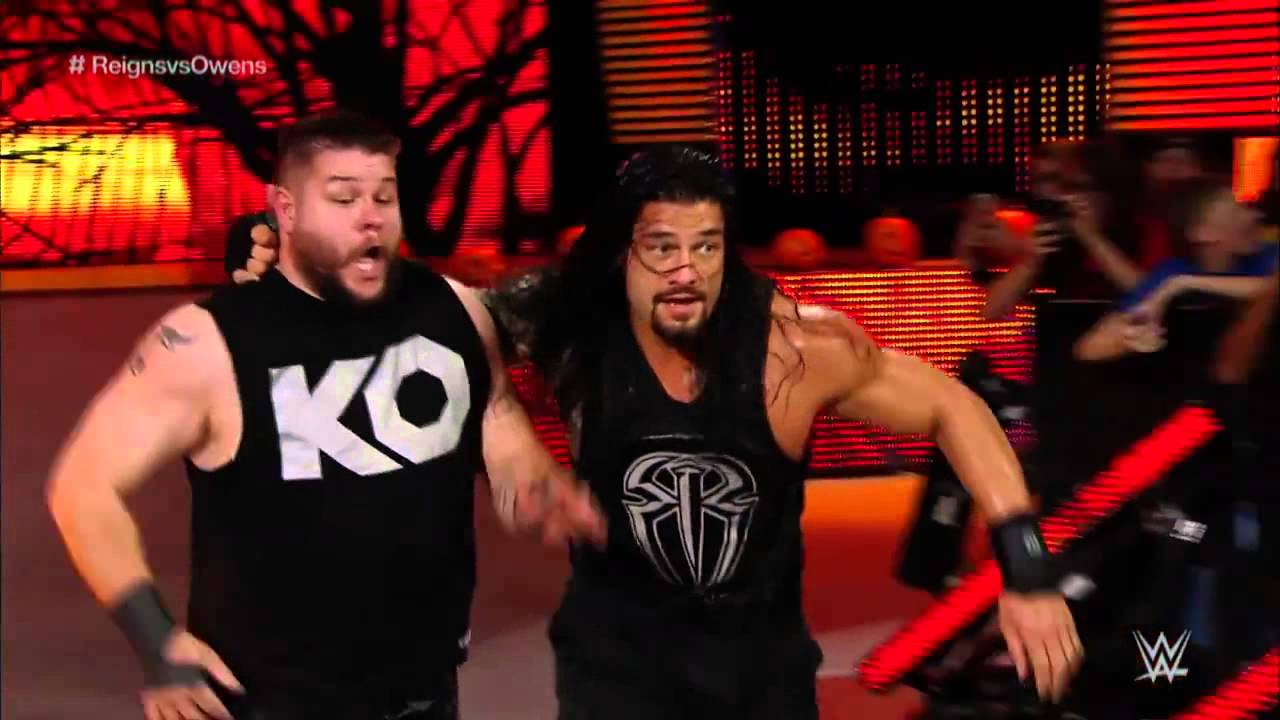 Image result for WWE Roman Reigns and Kevin Owens