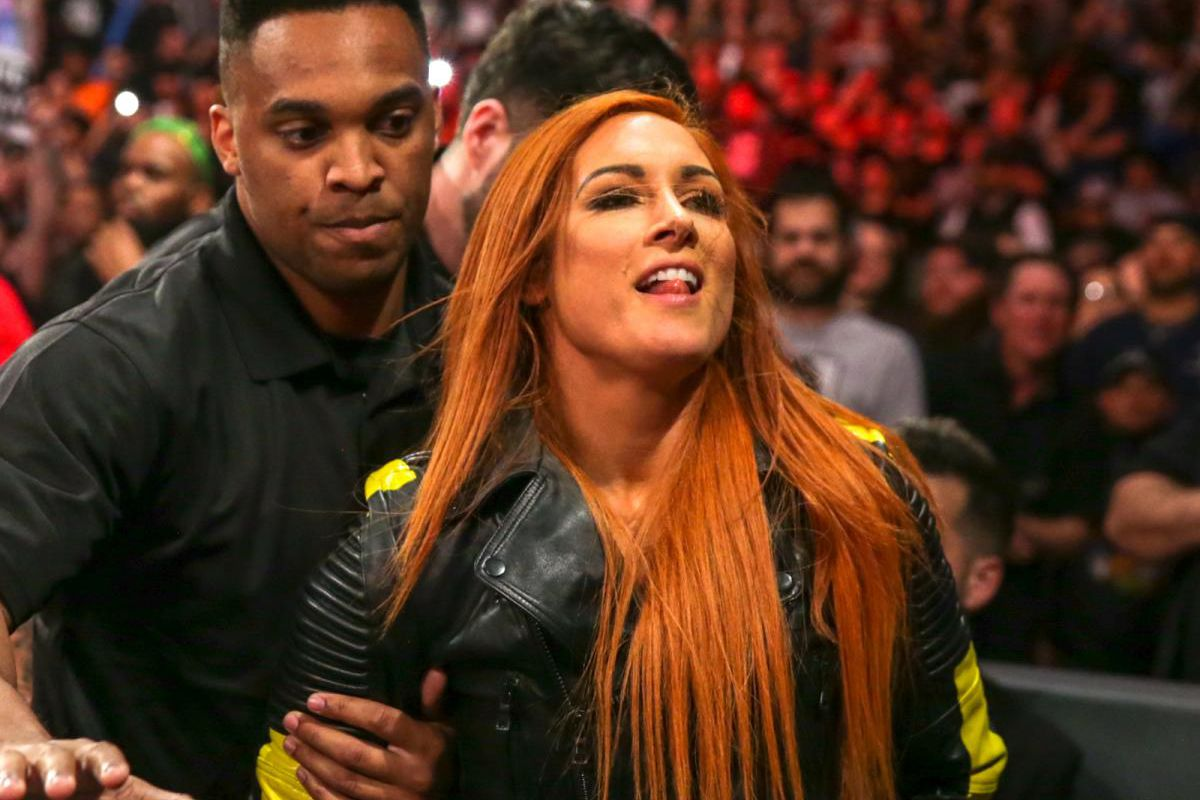 Lynch leaked becky The Becky